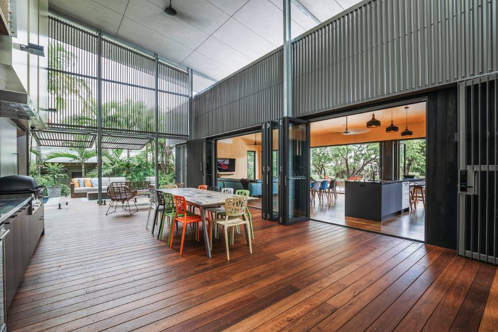 THE ENTERTAINER: Cooinda House has been designed with plenty of space for when the entire family comes together. Photos: Matthew Gianoulis.